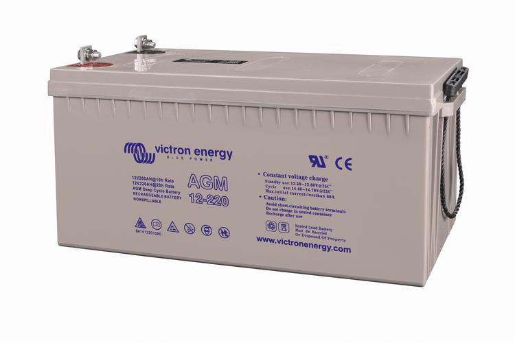 Victron Energy BAT412201084 - AGM-batteri 12V/220 Ah  CCA (SAE) 65