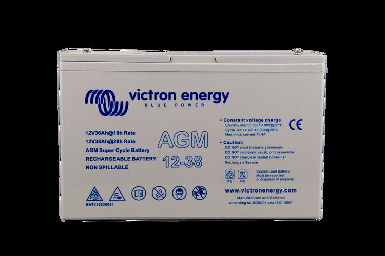 Victron Energy BAT412350084 - AGM-batteri 12V/38 Ah