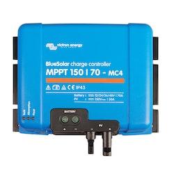 Victron Energy SCC010070300 - BlueSolar MPPT 150/70A-MC4, solcellsregulator (med MC4-kontakter