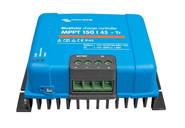Victron Energy SCC010045200 - BlueSolar MPPT 150/45-Tr, solcellsregulator