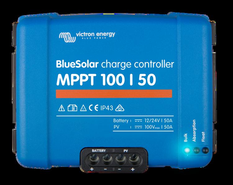 Victron Energy SCC020050200 - BlueSolar MPPT 100/50, solcellsregulator