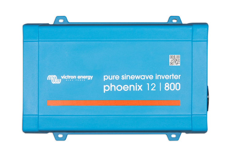 Victron Energy PIN121800200 - Phoenix Inverter 12/800 230V, VE.Direct, Schuko-uttag