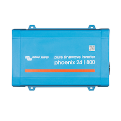 Victron Energy PIN241800200 - Phoenix Inverter 24/800, 230V, VE.Direct, Schuko-uttag