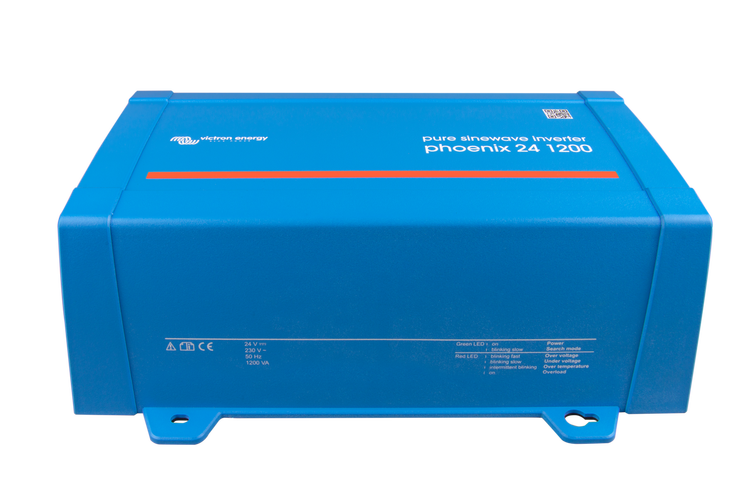Victron Energy PIN242120200 - Phoenix Inverter 24/1200, 230V, VE-Direct, Schuko-uttag