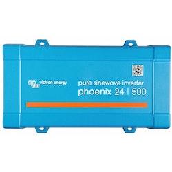 Victron Energy PIN245010200 - Phoenix Inverter 24/500, 230V, VE.Direct, Schuko-uttag