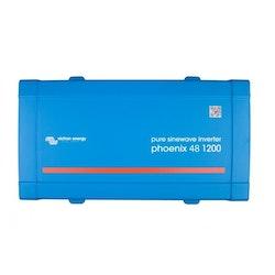 Victron Energy PIN482120200 - Phoenix Inverter 48/1200, 230V, VE.Direct, Schuko-uttag