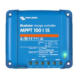 Victron Energy SCC010015200R - BlueSolar MPPT 100/15, solcellsregulator