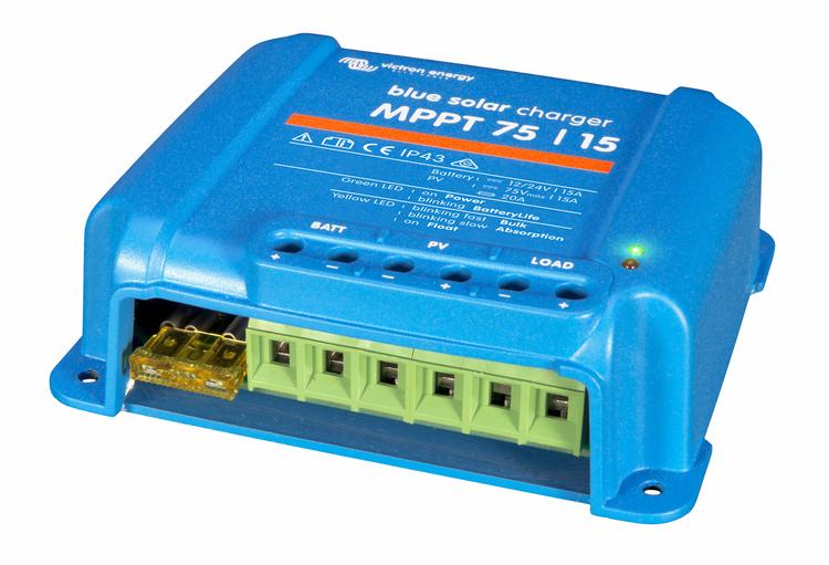 Victron Energy SCC010015050R - BlueSolar MPPT 75/15, solcellsregulator