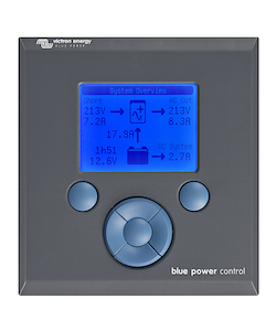 Victron Energy BPP000200110R - VE.Net Blue Power Control GX, kontrollpanel