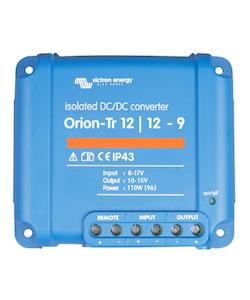 Victron Energy ORI121210110 - Orion-Tr 12/12-9A (110W), isolerad DC-DC-omvandlare, justerbar utspänning 10-15V