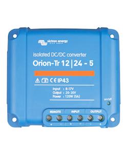 Victron Energy ORI122410110 - Orion-Tr 12/24-5A (120W), isolerad DC-DC-omvandlare, justerbar utspänning 20-30V