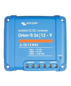 Victron Energy ORI241210110 - Orion-Tr 24/12-9A (110W), isolerad DC-DC-omvandlare, justerbar utspänning 10-15V