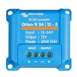 Victron Energy ORI241205200 - Orion-Tr 24/12-5 (60W), oisolerad DC-DC-omvandlare