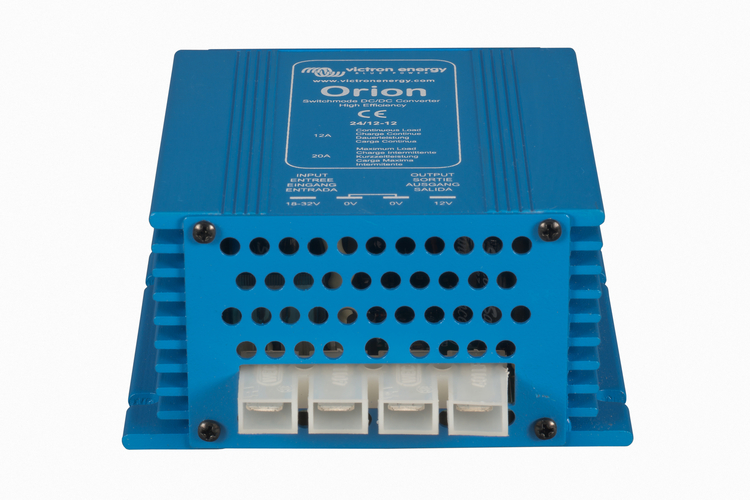 Victron Energy ORI122410020 - Orion 12/24-10A, oisolerad DC/DC-omvandlare, justerbar utspänning 20-30