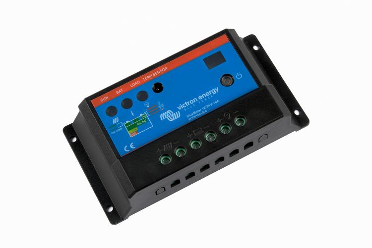 Victron Energy SCC010010000 - BlueSolar PWM-Light 12/24-10A, solcellsregulator