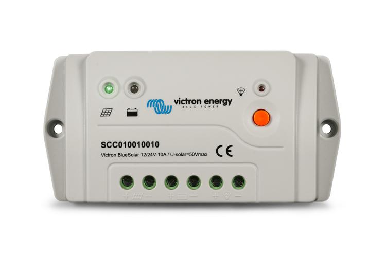 Victron Energy SCC010030010 - BlueSolar PWM-Pro 12/24V-30A, solcellsregulator