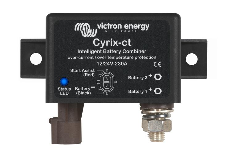 Victron Energy CYR010230010 - Cyrix-ct 12/24V-230A, batterikombinerare