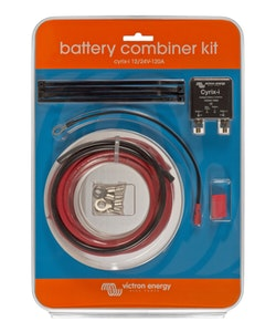 Victron Energy CYR010120110R - Cyrix-ct 12/24V-120A batterikombinerare paket