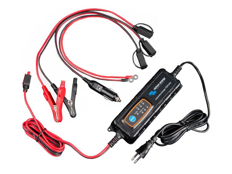 Victron Energy BPC120480034R - Automotive IP65 batteriladdare, 12V/4A-12V/0.8A