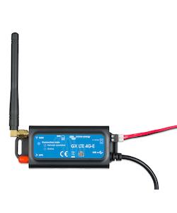Victron Energy GSM100100400 - GX GSM ansluts till en Venus-produkt, skickar data till VRM