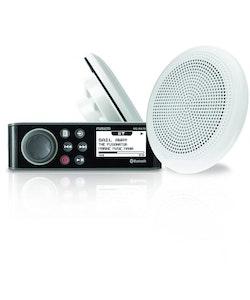 Fusion - Marinstero kit F651W högtalare