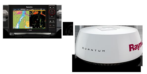 """Raymarine - Quantum 18"""" Q24C inkl. 10m elkabel"""