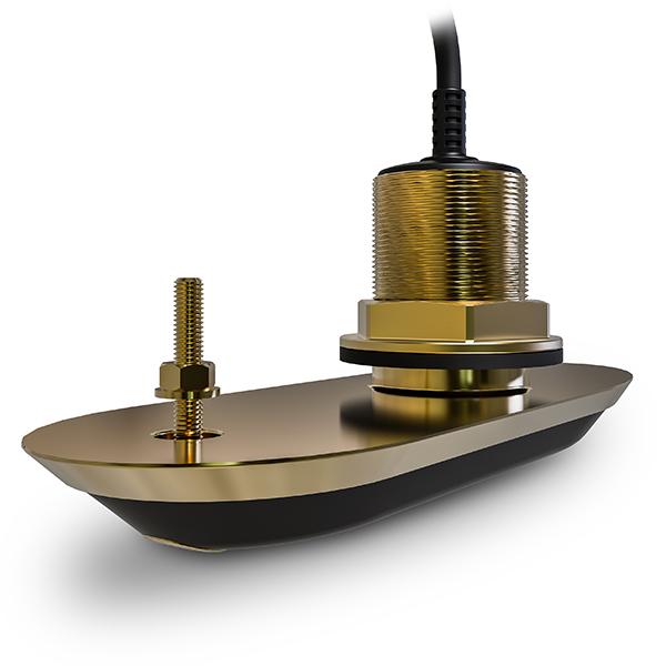 Raymarine - RV-200 RealVision 3D, Allt-i-ett - genomskrovsgivare i brons 0°, 8m