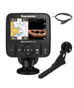 Raymarine - Dragonfly-5 Pro inkl. CPT-DVS givare (utan sjökort)