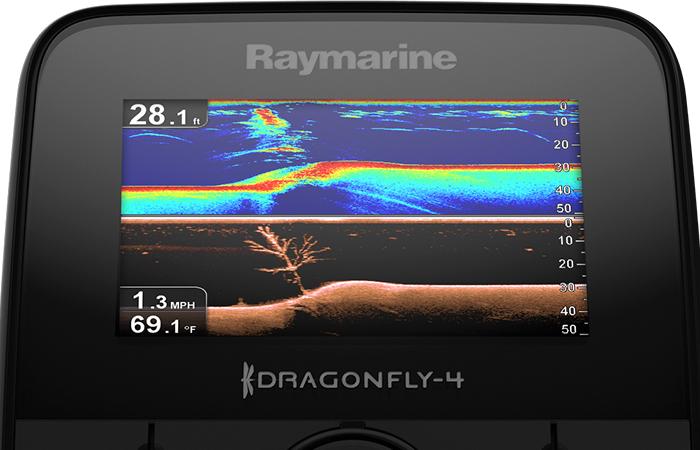 Raymarine - Dragonfly-7 Pro inkl. CPT-DVS givare (utan sjökort)