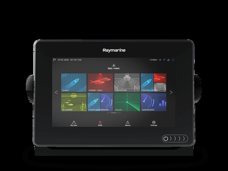 """Raymarine - AXIOM 7"""" MFD med integrerad 600W Sonar och DownVision, sjökort på köpet*"""