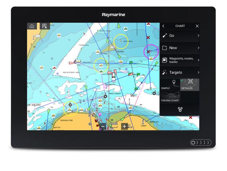 """Raymarine - AXIOM 12"""" MFD med integrerad 600W Sonar och RealVision 3D, sjökort på köpet*"""