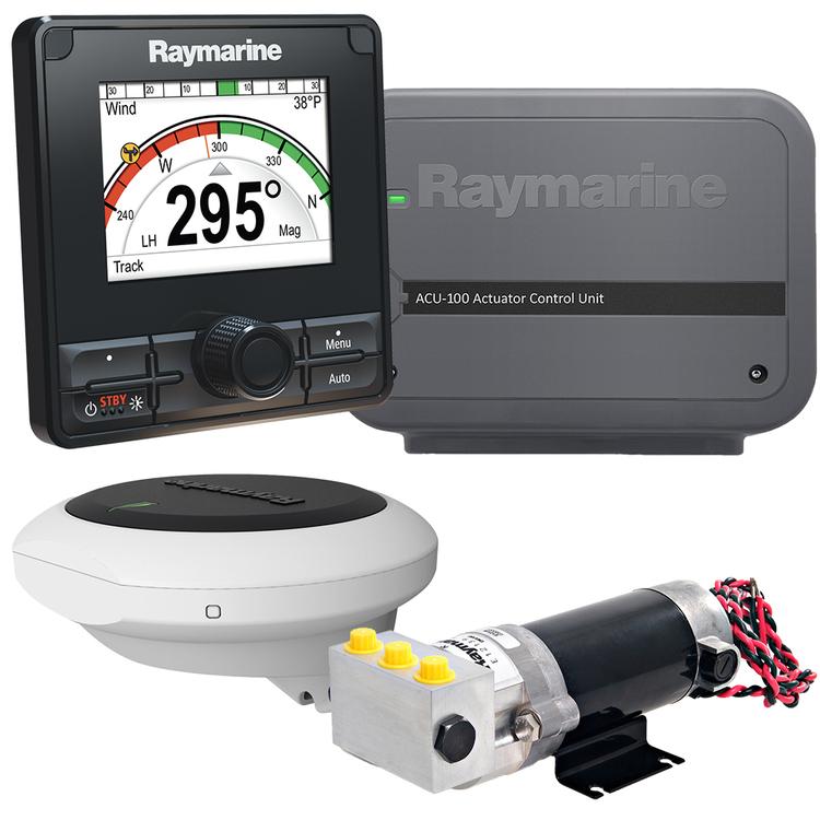 Raymarine - EV-100 Hydraulpilot med  p70Rs, ACU-100 samt 0,5L hydralpump