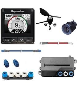 Raymarine - i70s System - Vindgivare, fart/djup/temp-kombigivare