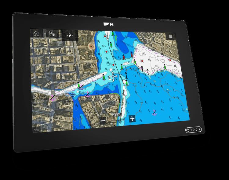 """Raymarine - AXIOM+ 12 RV - 12"""" MFD med integrerad RealVision 3D och 600W"""