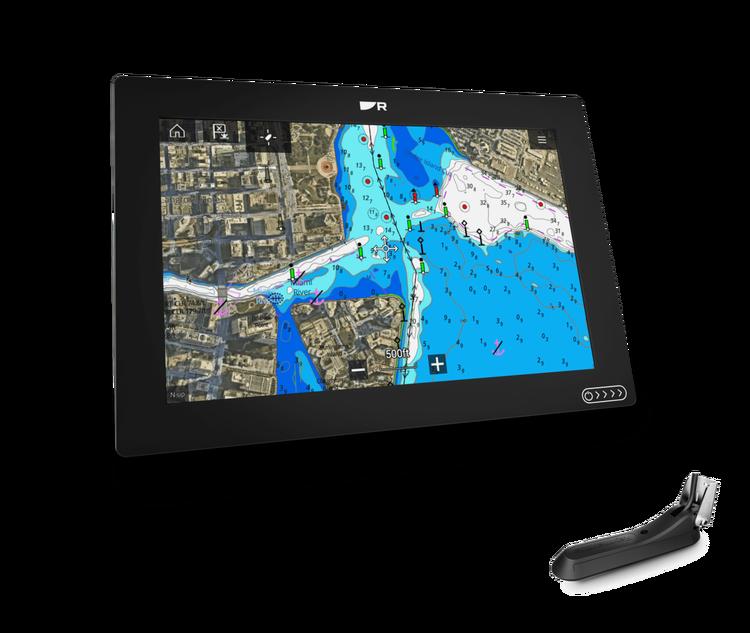 """Raymarine - AXIOM+ 12 RV - 12"""" MFD med integrerad RealVision 3D och 600W sonar, RV-100 givare"""