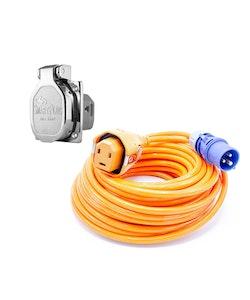 SmartPlug Landströmspaket med Intag och Kabel 25m