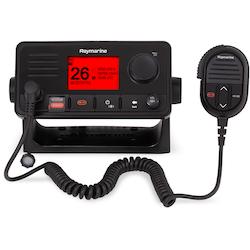 Raymarine - Ray73 VHF-radio med dual-stationfunktion, GPS, AIS-mottagare och megafonutgång