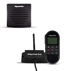 Raymarine - Ray 63/73 trådlös första-station inklusive trådlös handenhet, trådlös hub och aktiv högtalare