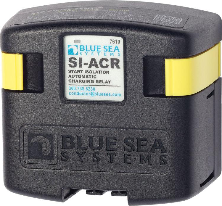 Blue Sea Systems 7610B - Skiljerelä 12/24 V 120 A