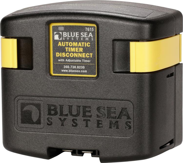 Blue Sea Systems 7615 - Skiljerelä 12/24 V 120 A med timerfunktion