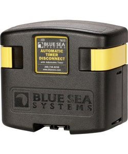 Blue Sea Systems 7615 - Skiljerelä 12/24 V 120 A med timerfunktion