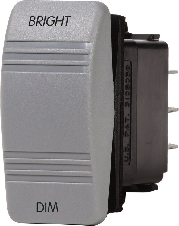 Blue Sea Systems 8216 - Contura Dimmerbrytare /grå