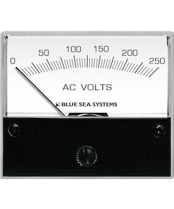 Blue Sea Systems 9354 - Analog voltmeter AC 250 V