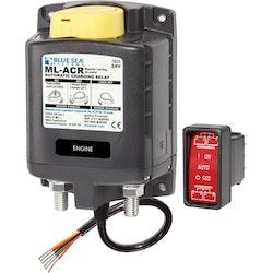 Blue Sea Systems 7623 - Skiljerelä 24 V 500A manuell kontroll