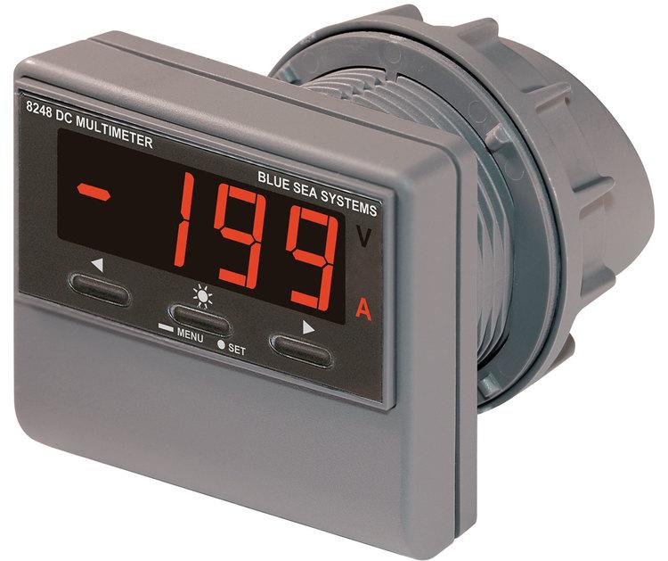 Blue Sea Systems 8248 - Digital multimeter DC med larm