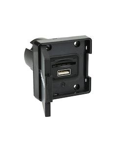 Raymarine - Extern SD kortläsare (RCR-1) och USB kontakt, 1m kabel