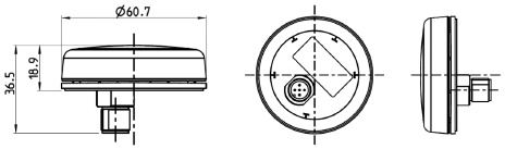 Veratron - GO, GPS/Glonass/Galileo-mottagare för NMEA 2000
