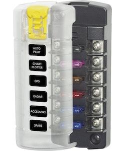 Blue Sea Systems 5035B - Säkringshållare 6 säkringar