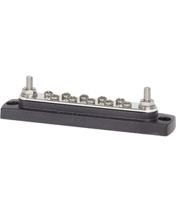Blue Sea Systems 2301B - Kopplingsplint BusBar 10+2 bult