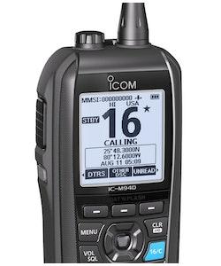 Icom 80394 - IC-M94D Bärbar Marinradio med AIS, GPS & DSC